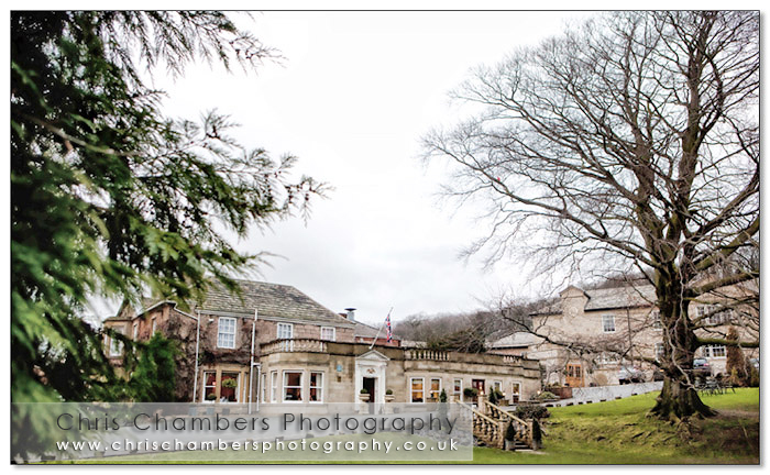Wentbridge House wedding venue in West Yorkshire. Wedding photography from Chris Chambers Wakefield wedding photographer