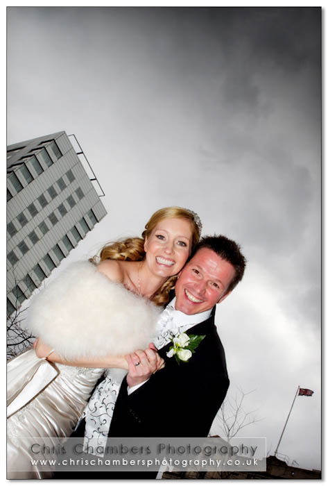 Leeds city centre wedding photography